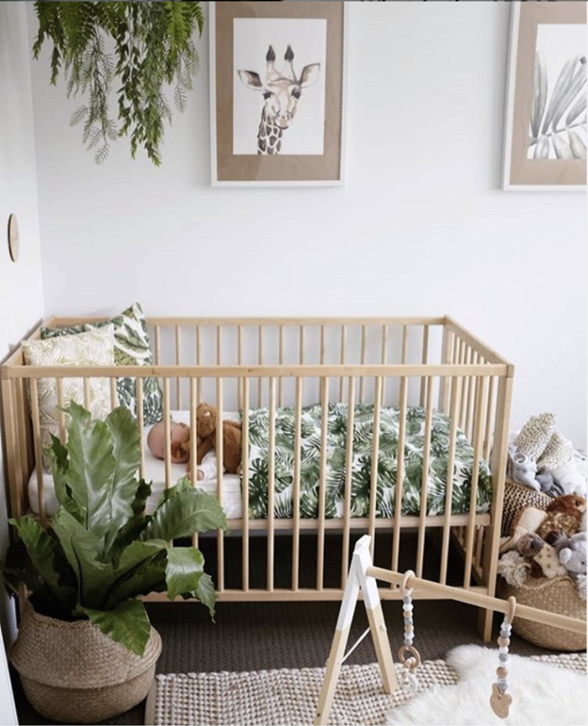 jungle baby nursery