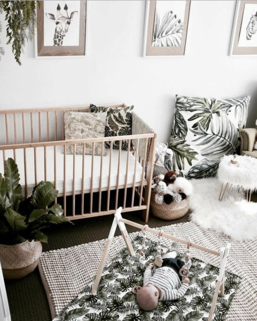 baby jungle nursery