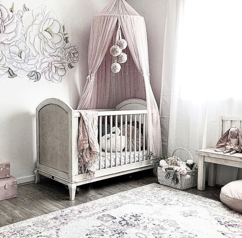 Cozy Baby girl nursery ideas