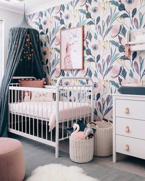Cozy nursery baby girl nursery ideas
