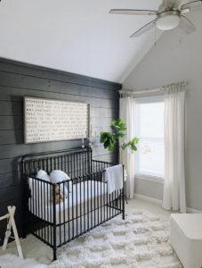 coastal farmhouse nursery decor