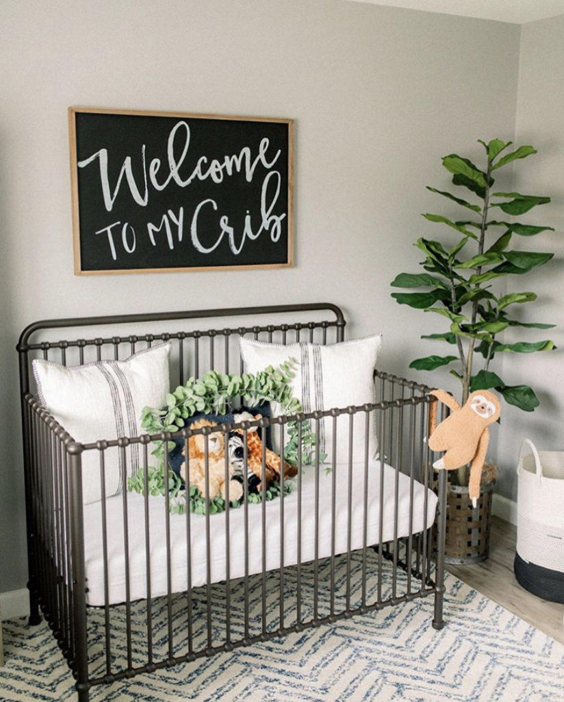 Farmhouse baby nursery ideas