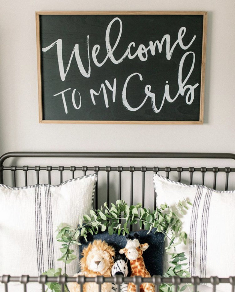 farmhouse baby nursery